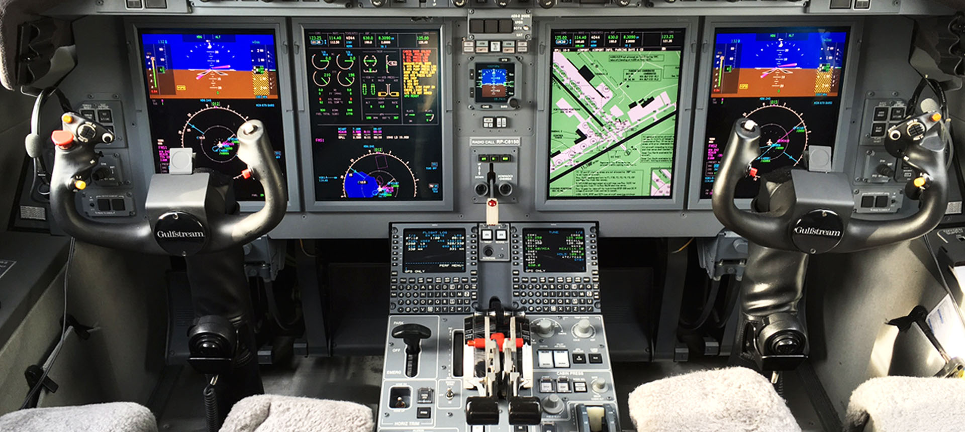 Gulfstream G150 Flight Deck