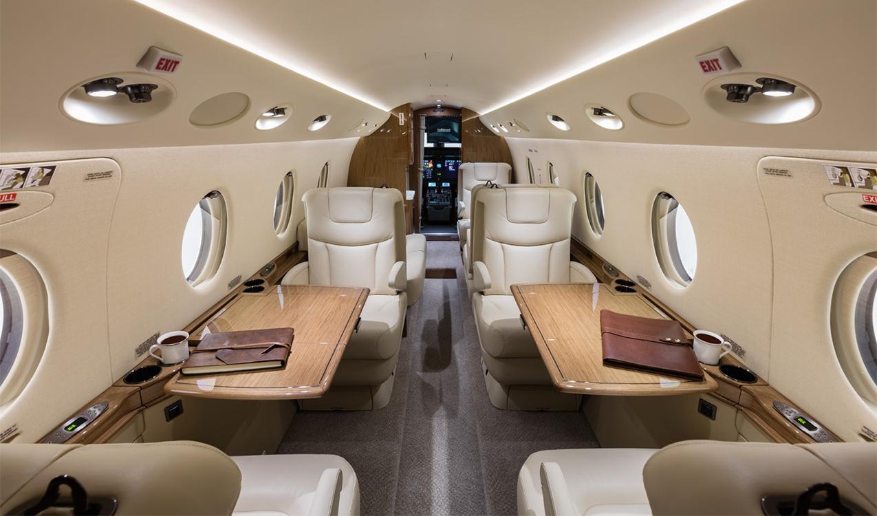Gulfstream G150 Aft Looking Forward