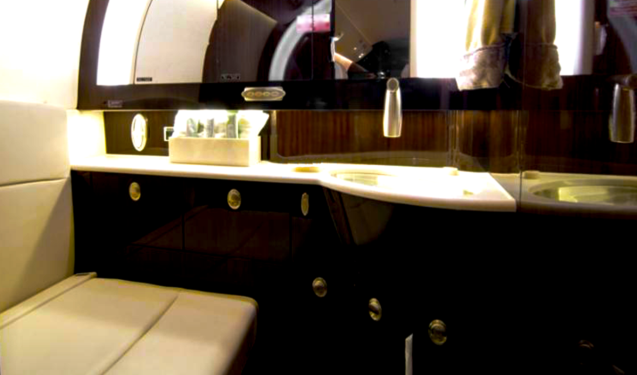 G150 Aft lavatory