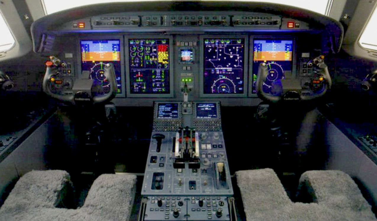 G150 Flight deck