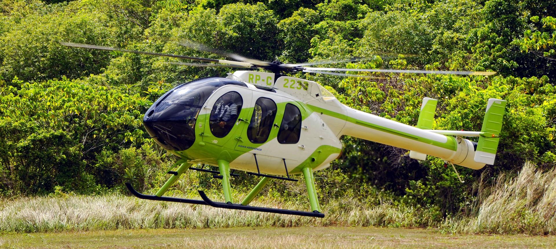 MD600N Landing
