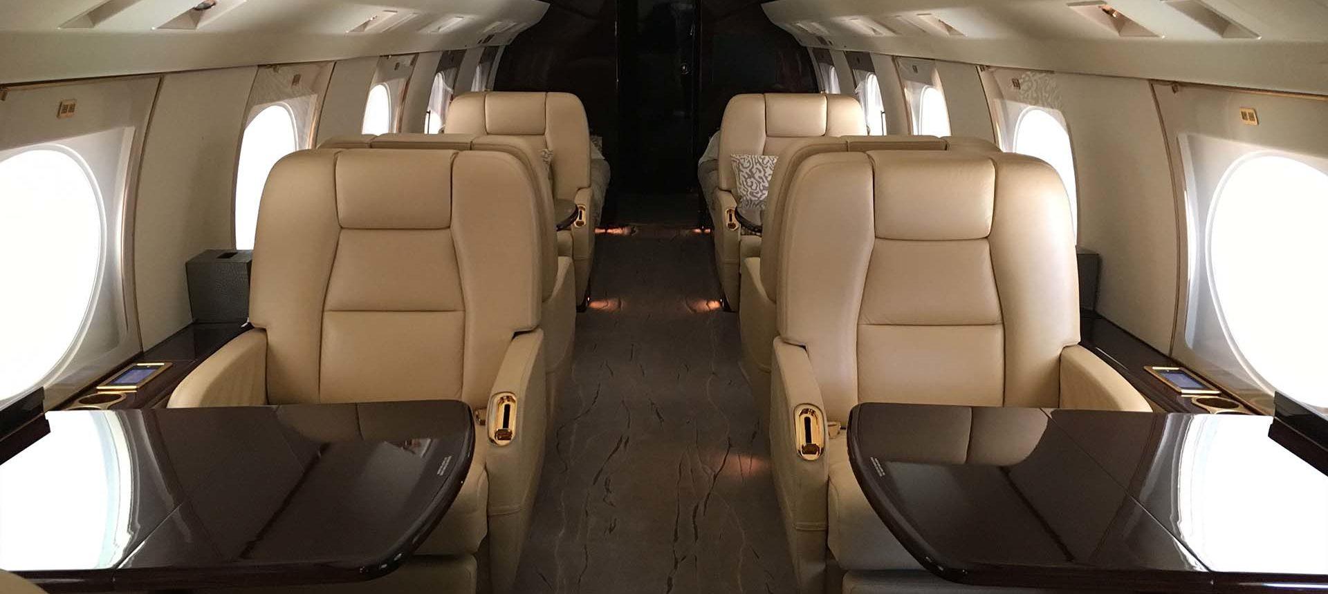 G450-1 Forward cabin looking aft