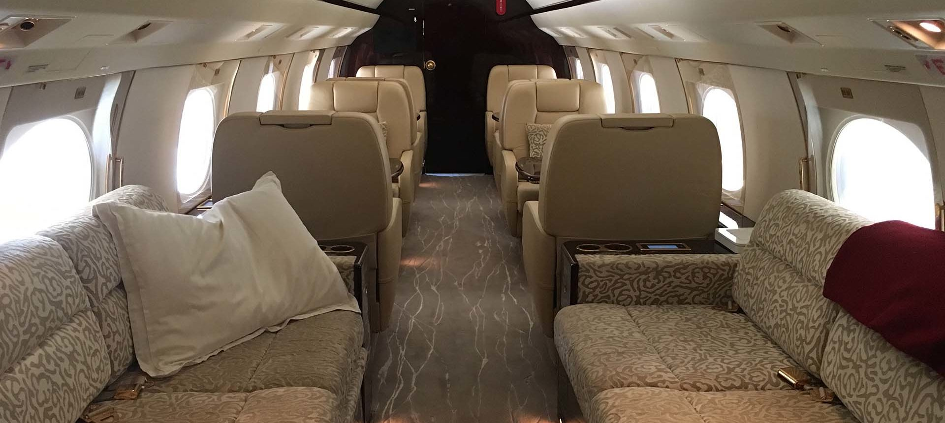 G450-3 Aft cabin looking forwrad