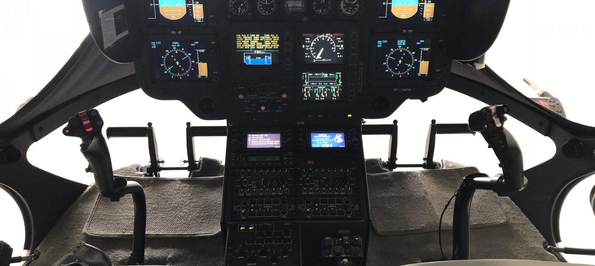 Airbus EC145 Flight Deck