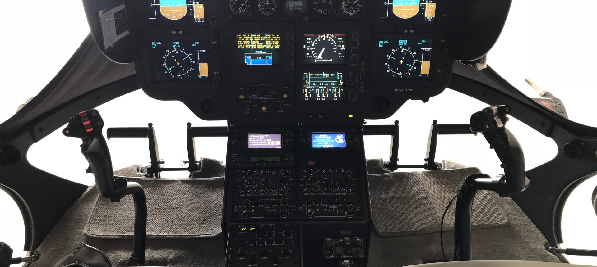 Airbus EC145 Flight Deck